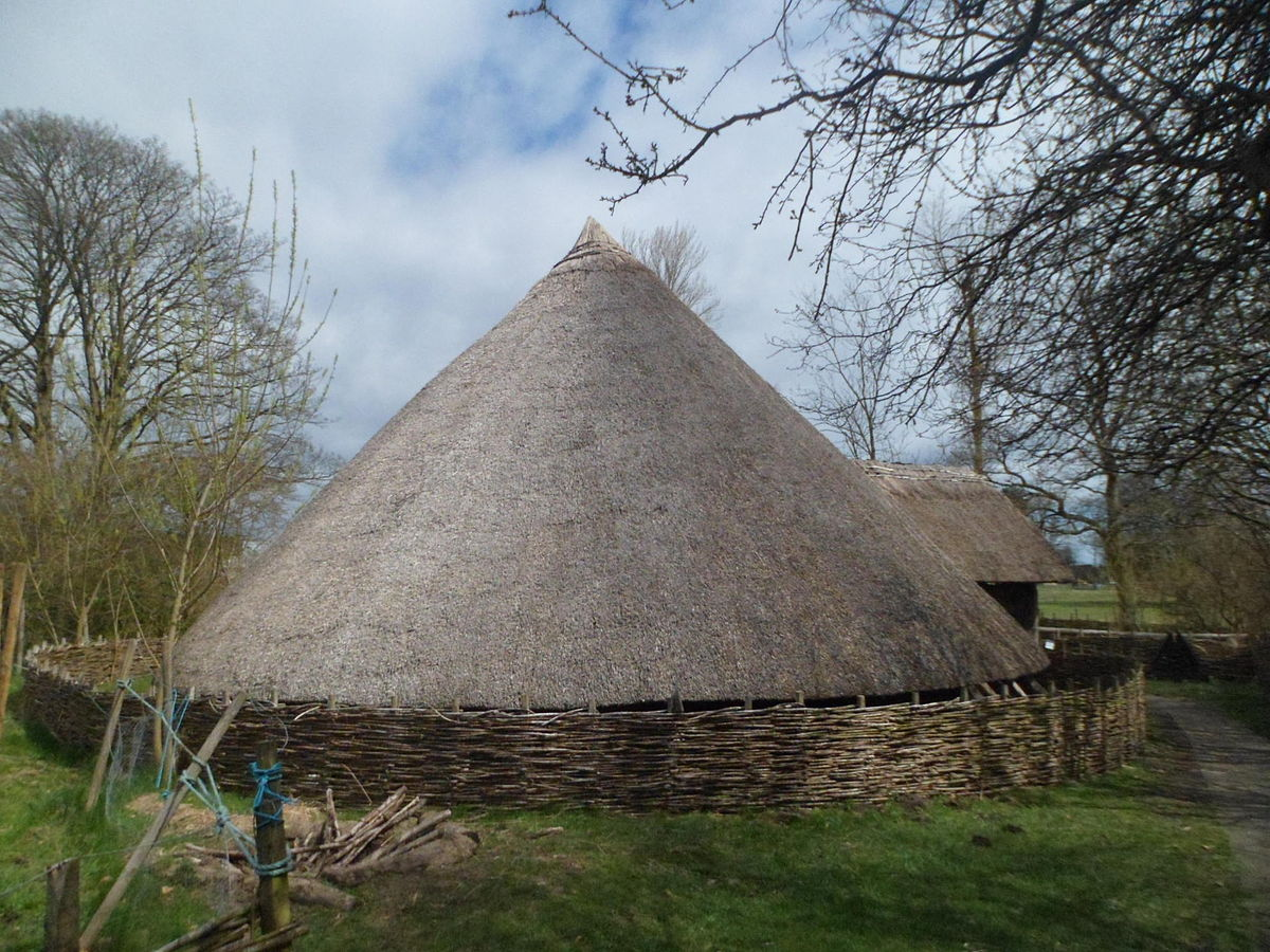 Image of round house at Ryedale Folk Museum